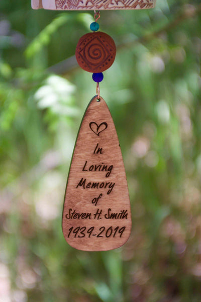 Personalized Memorial Gifts for Loss of Pet, Father or Mother - EarthWind Stoneware
