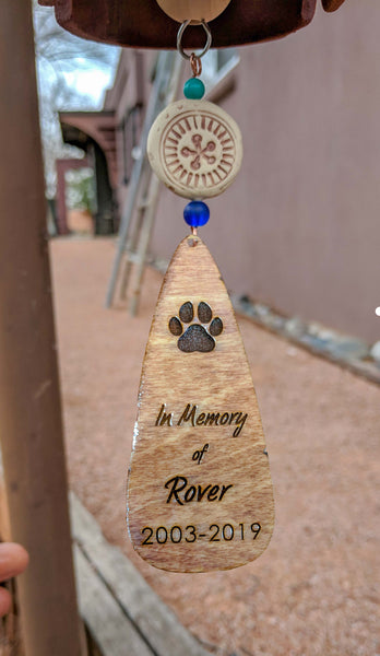 Personalized Sympathy Gifts for Loss of Mother, Father or Pet - EarthWind Bells