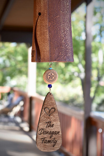 Personalized Housewarming Gift for Home - EarthWind Bells