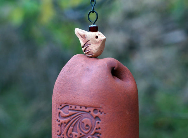 Handmade Ceramic Wind Chime - EarthWind Bells
