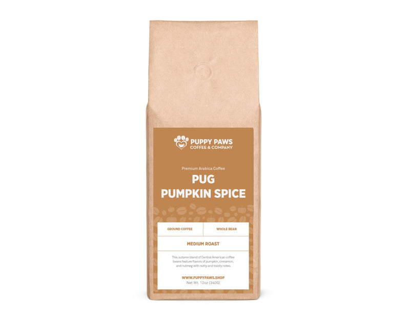 Pug Pumpkin Spice Coffee
