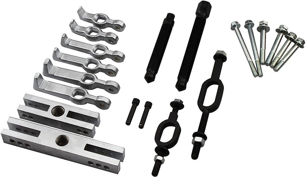 Multi Purpose Bearing and Pulley Puller Set Bearing & Pulley Puller Set - 20pcs Set with All Pulling Purpose. -by Kauplus
