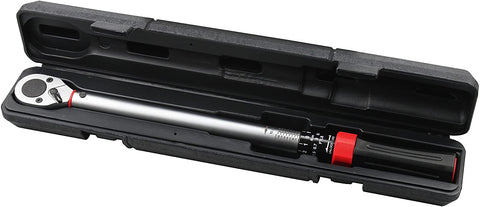 Kauplus 1/2-Inch Drive Click Torque Wrench (29-155 ft.-lb. / 40-210 Nm)