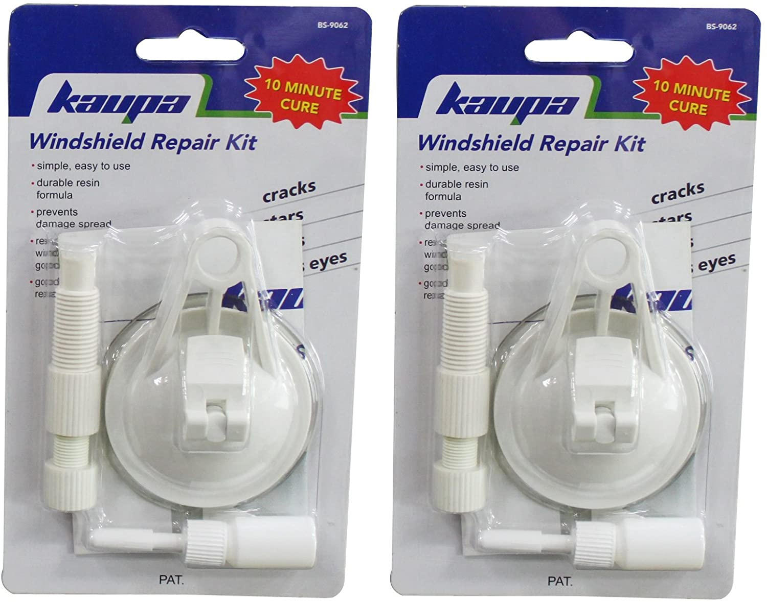 Kauplus Windshield Repair Kit - 2 Pack