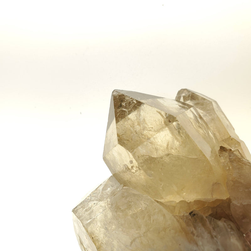 7.8 cm Beautifully Bright Self-Standing Kundalini Quartz Citrine, Democratic Republic of Congo, Lwena, Congo Citrine