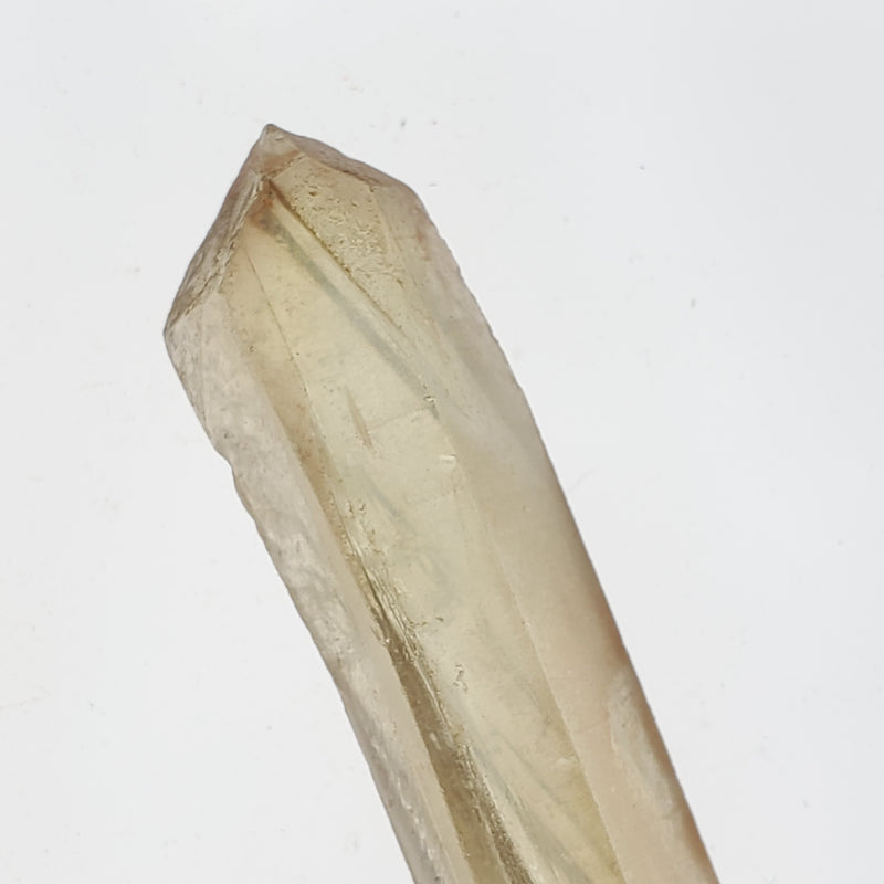 "4.2"" Natural Citrine, Citrine Wand, Citrine Quartz From Mansa, Zambia, Citrine Points"