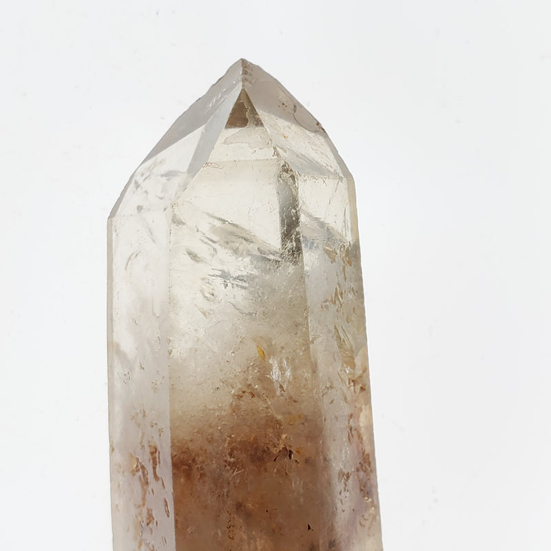 109.4 g , Bright and Shining Kundalini Quartz Citrine, Democratic Republic of Congo, Lwena, Congo Citrine