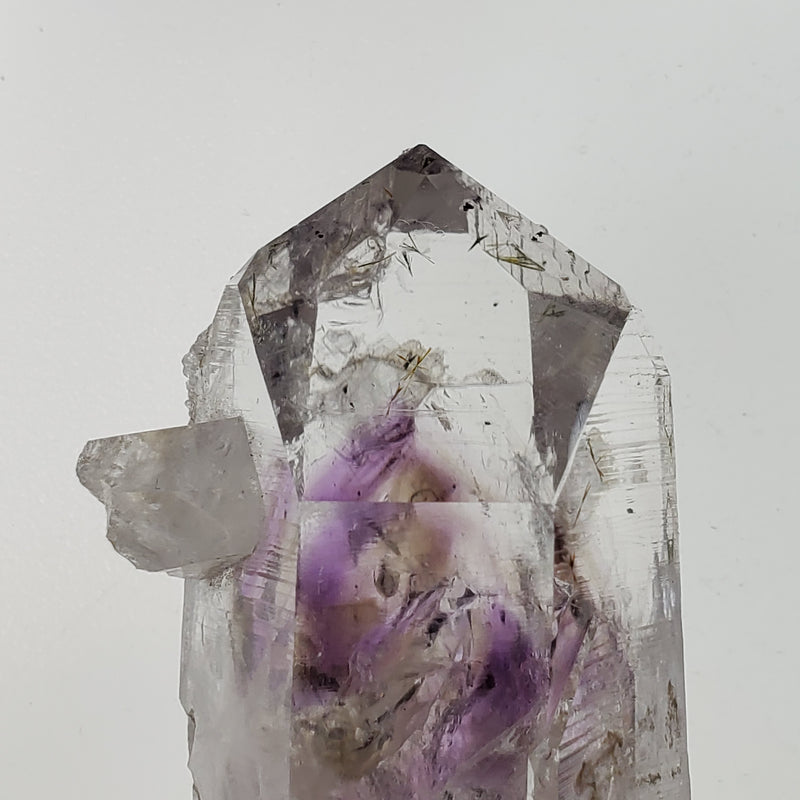 81 g Bright Brandberg Quartz With Smoky Phantom and Crystal Growth From Namibia