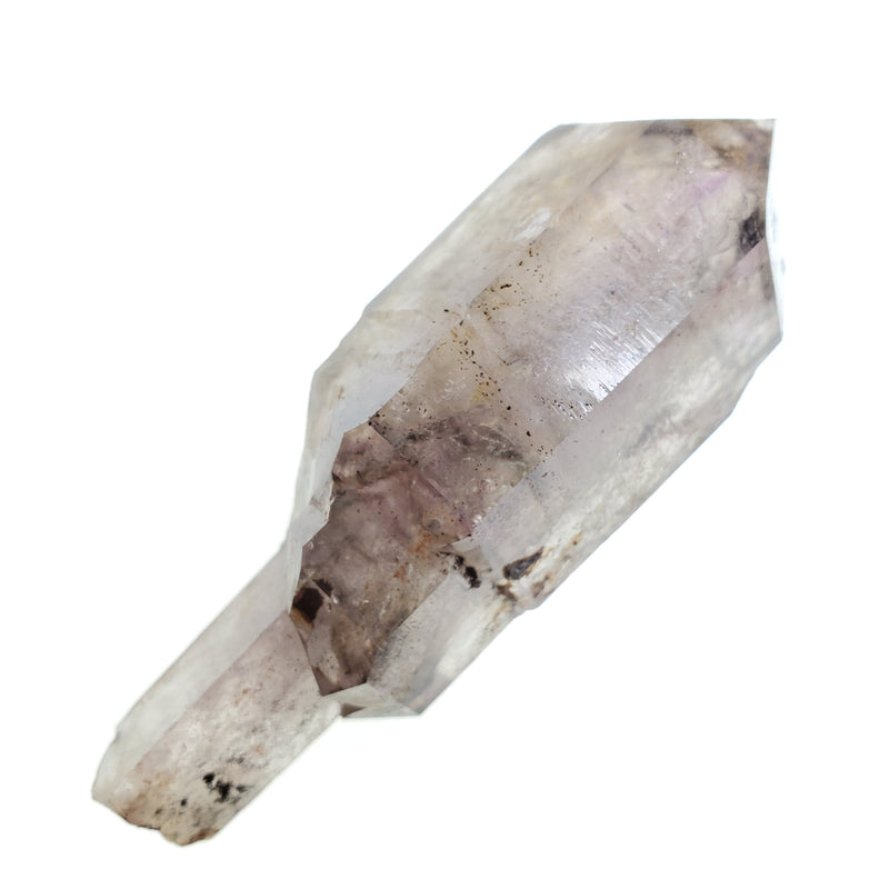 Double Enhydro Shangaan Amethyst Sceptre, 81g, Beautiful Purple Colour, From Chibuku Mine, Zimbabwe