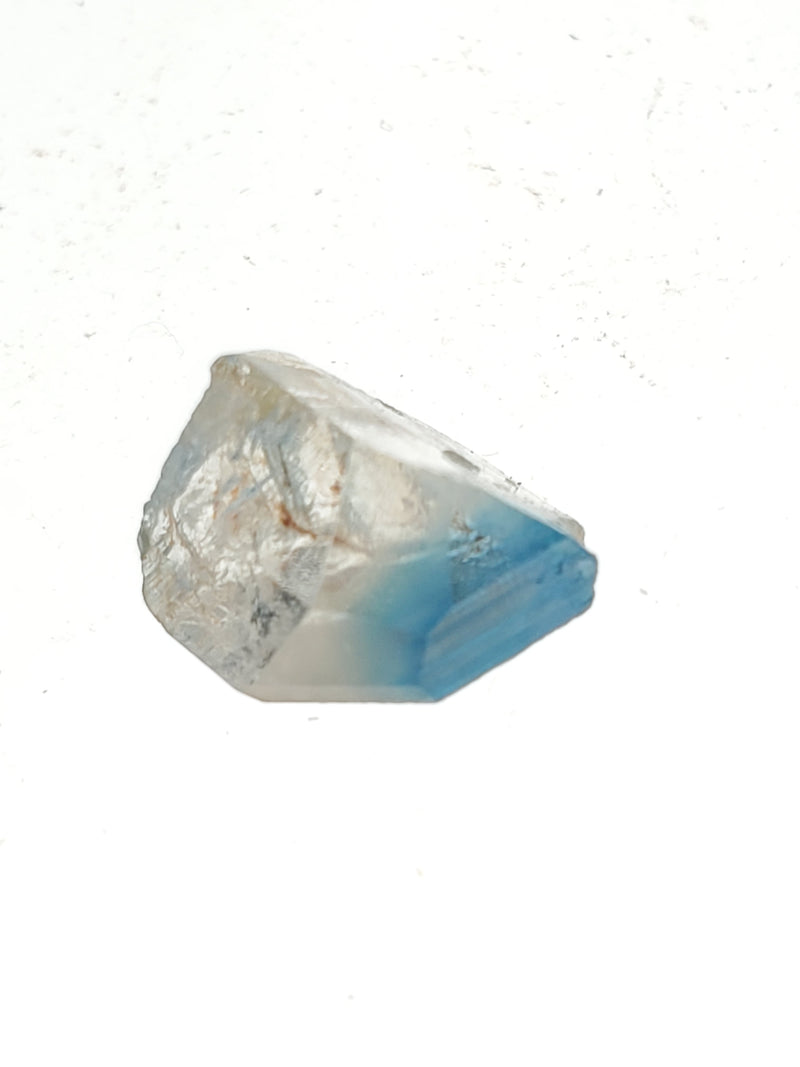 Rare Euclase Clear / Deep Blue Crystal, 3.1 carats, Lost Hope Mine, Karoi, Zimbabwe, Blue Euclase, Stone of Clarity and Strength, Rare Mineral