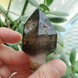 "2.2"" Deep Smoky Purple, Mobile Enhydro, Shangaan Amethyst Scepter From Zimbabwe"