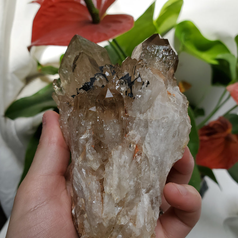 Wholesale Flat of Kundalini Quartz Crystals, 32 Pieces, Large Size Range, Kundalini Quartz, Democratic Republic of Congo