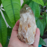"3.22"" Self-Standing, Bright Gold Kundalini Quartz Crystal, Democratic Republic of Congo, Lwena, Congo Smoky Quartz"