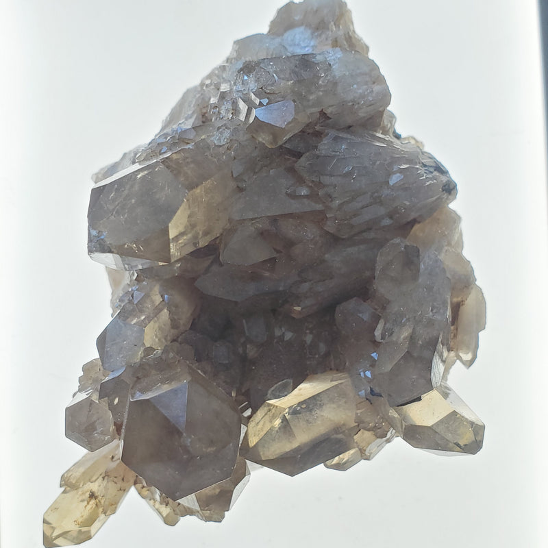 "3.62"" Self-Standing, Kundalini Quartz Matrix, Democratic Republic of Congo, Lwena, Congo Smoky Quartz"