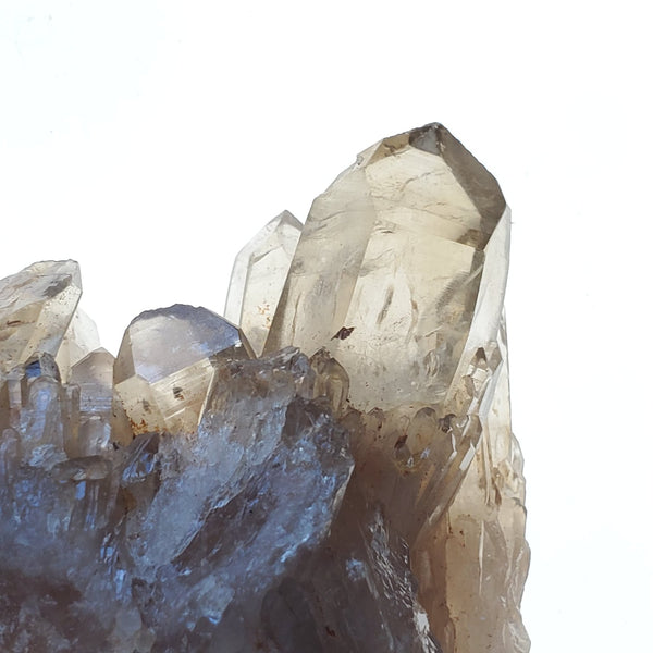 "3.26"" Sizeable, Twin Peak Kundalini Quartz, Democratic Republic of Congo, Lwena, Congo Smoky Quartz"