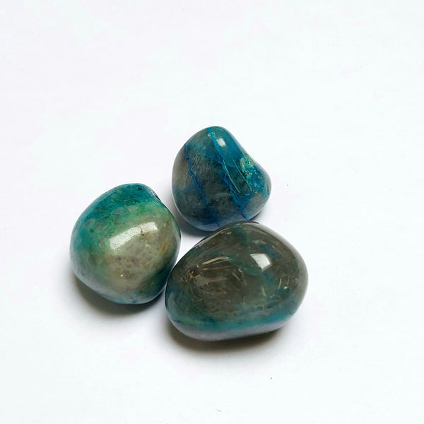 3 Pack of Quantum Quattro Tumbled stones, Healing Crystals from Kunene, Namibia