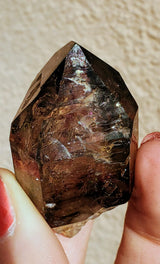 "0.3"" Shangaan Amethyst with Tons of Hematite Inclusions from Chibuku Mine, Zimbabwe"