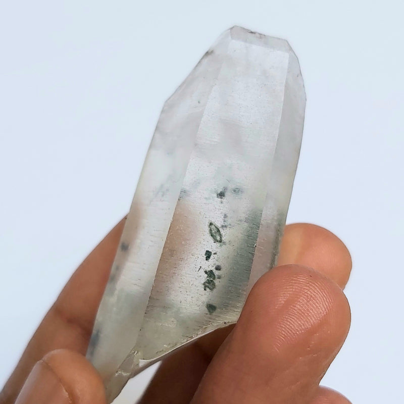 Chlorite Included Phantom Quartz, 35.71g, from Zambia