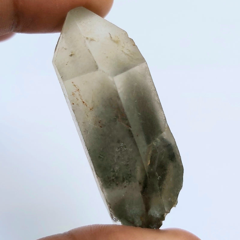 Chlorite Included Phantom Quartz, 33.25g, from Zambia