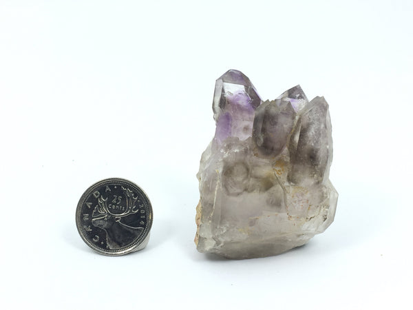 72g Brandberg Quartz Crystal Purple Cluster From Namibia