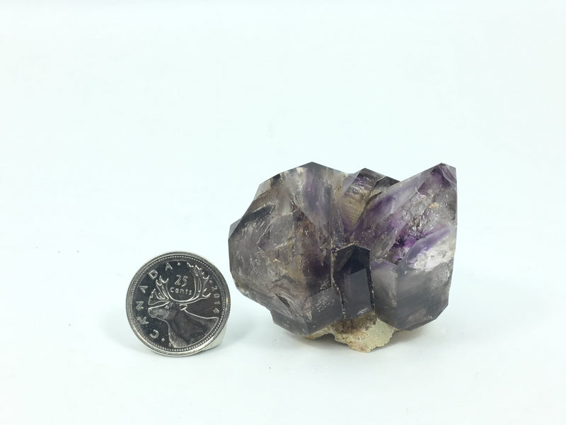 4.8 cm Brandberg Quartz Crystal Deep Purple Cluster From Namibia