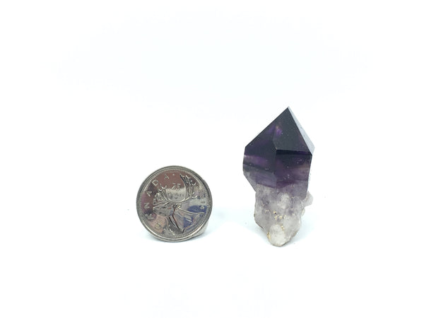 Brandberg Quartz Crystal Purple From Namibia