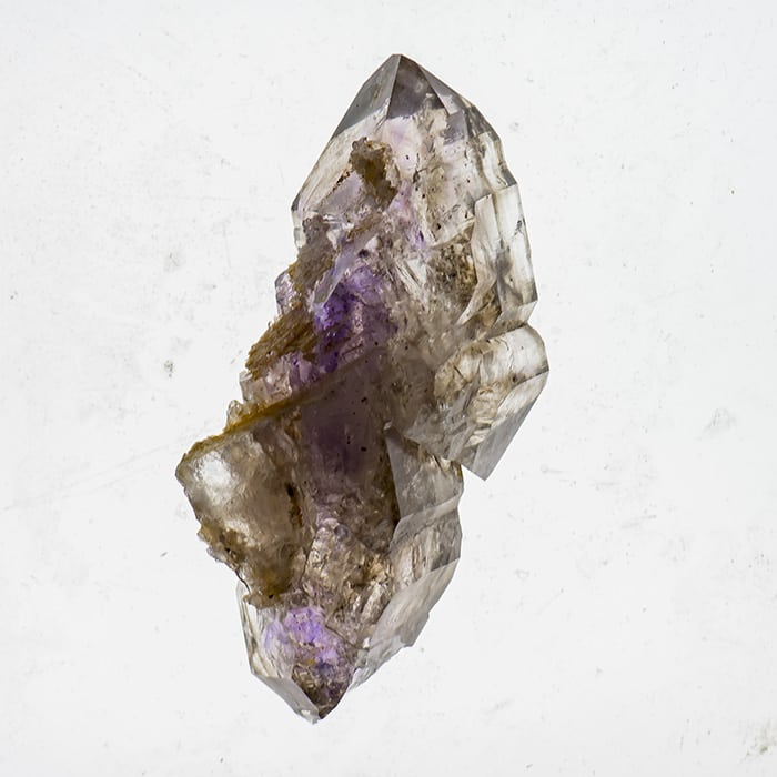 73 g Smoky Amethyst Double Terminated Brandberg Quartz From Namibia