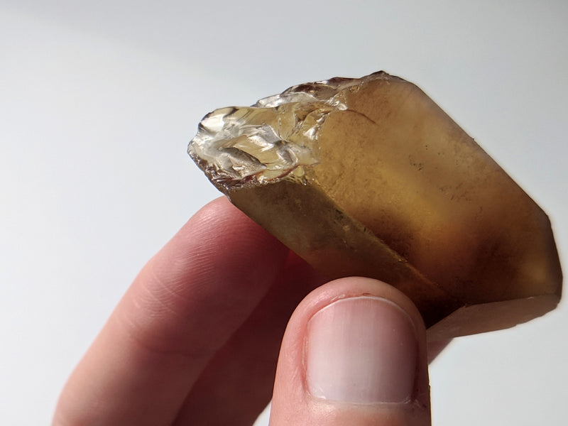 4.9 cm Natural Citrine, Citrine Quartz From Mansa, Zambia, Citrine Points