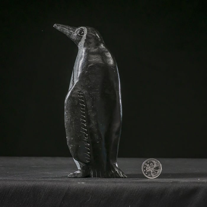 Serpentine Penguin, 17.8 cm, Shona Sculpture Zimbabwe
