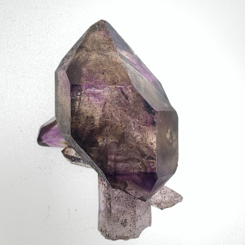34 g Triple Terminated Mobile Enhydro Shangaan Amethyst Scepter From Zimbabwe