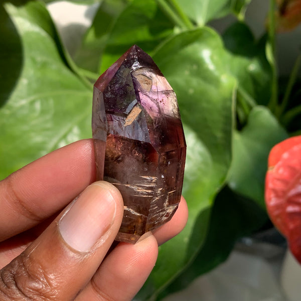 "2.19"" Shangaan Amethyst Smokey Quartz from Zimbabwe"