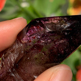 "2.1"" Shangaan Amethyst With Bright Red Hematite Inclusions from Zimbabwe"