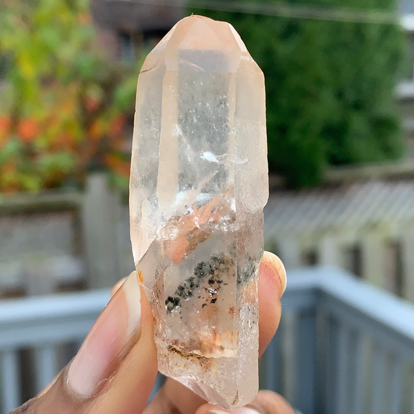 Chlorite-Included Phantom Discovery Quartz from Chongwe, Zambia