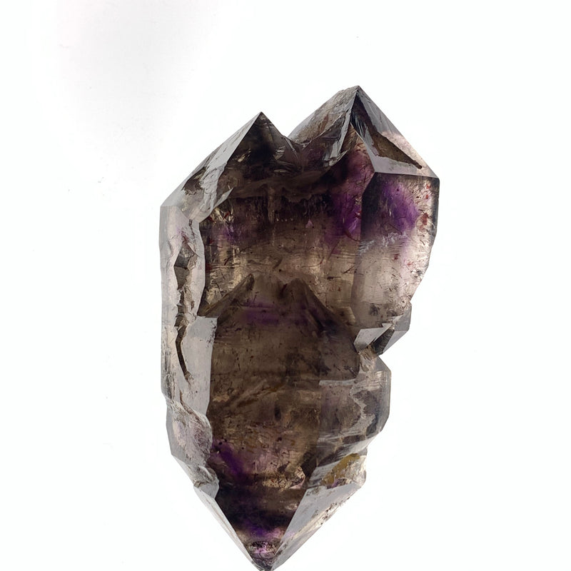 "2.5"" Triple Terminated Shangaan Amethyst With Hematite Inclusions from Zimbabwe"