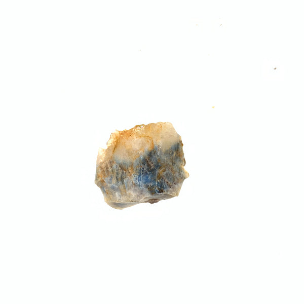1.24g Quartz Crystal With Light Blue Papagoite Inclusions From South Africa
