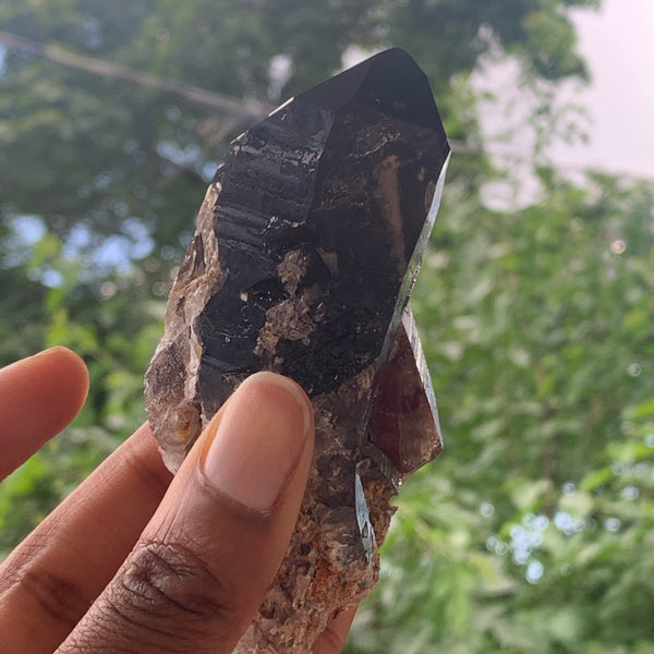 "3.8"" Smokey Quartz from Mulanje, Malawi, Africa"