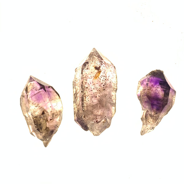 3 Pack of Shangaan Amethyst from Chibuku Mine, Zimbabwe