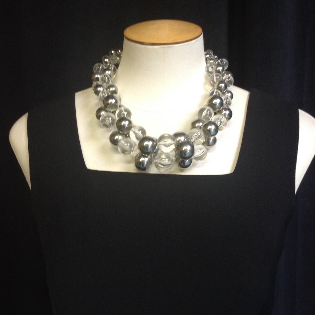 Bubble Statement Necklace  (Adjustable)