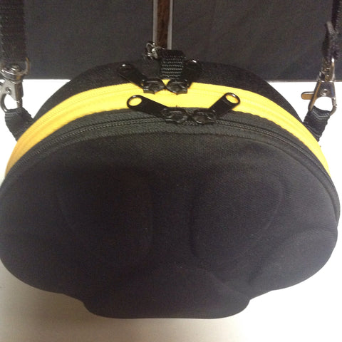 Doggy Paw Print Crossbody w/ Built in Doo Sacks