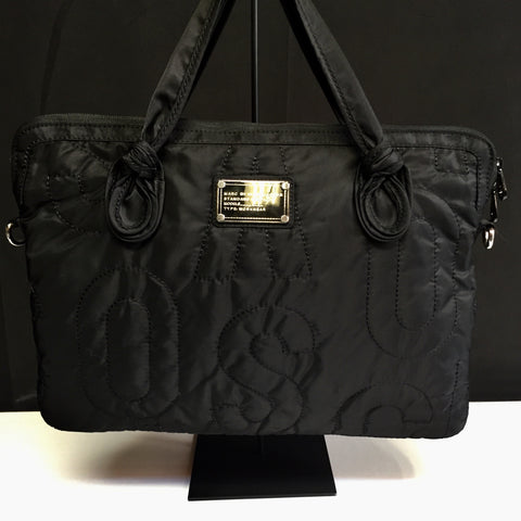Marc by Marc Jacobs Signature Premium Nylon Laptop Bag w/ Chic Tonal Print Retail $128 (FREE SHIPPING)