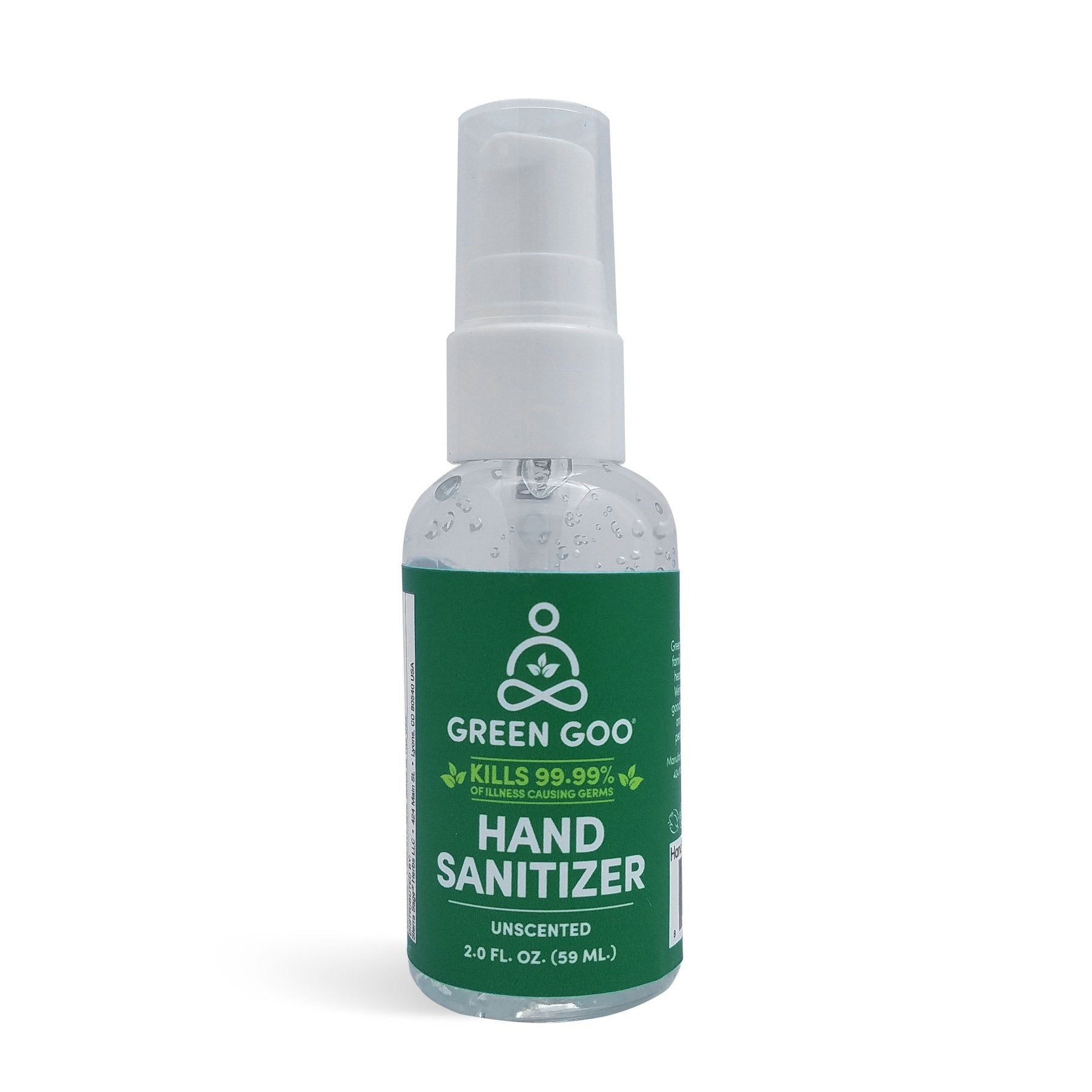 Hand Sanitizer 2 oz. Pump