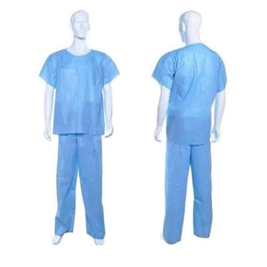 Hospital Medical Unisex Disposable Scrub Suits
