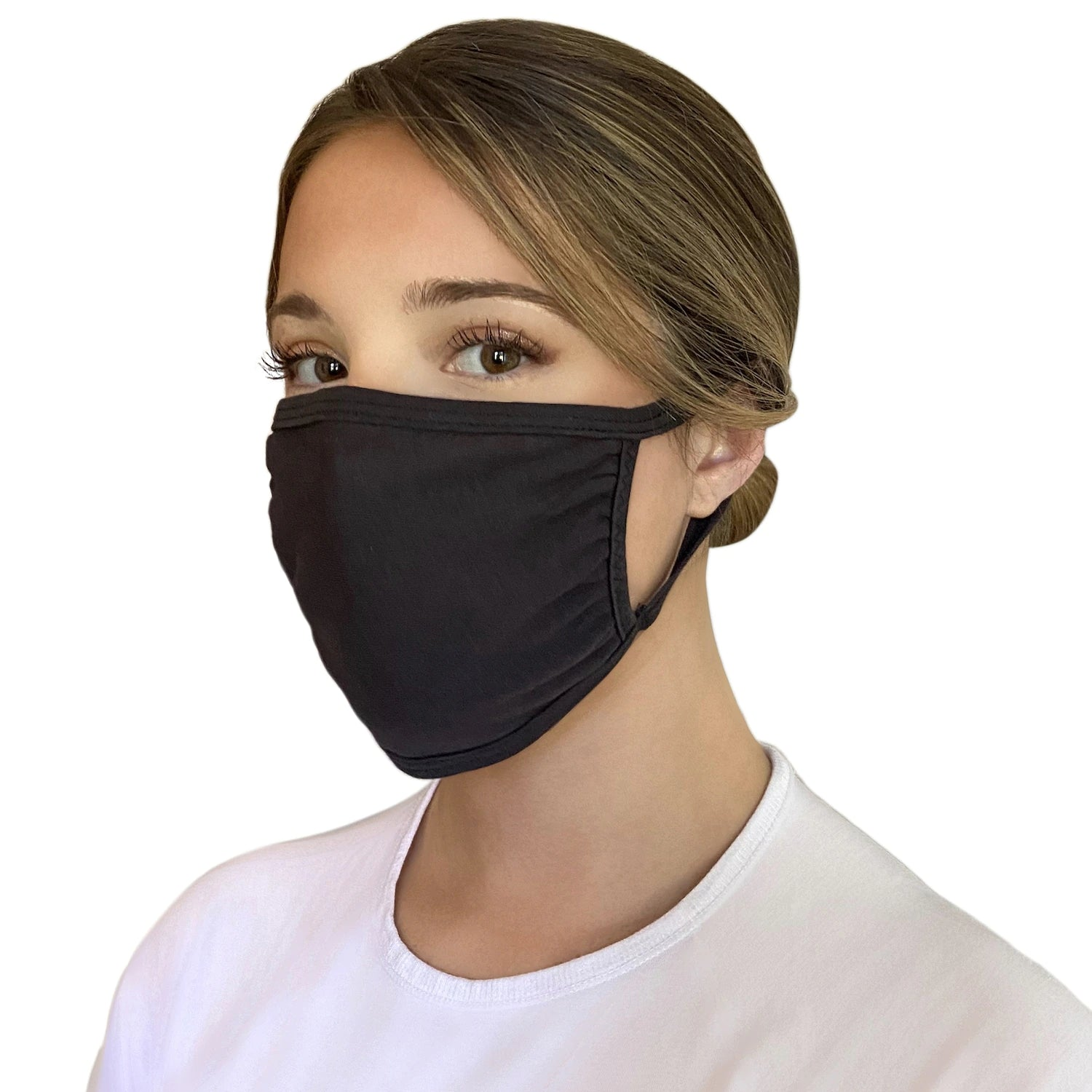 Washable Cloth Mask (All Black)