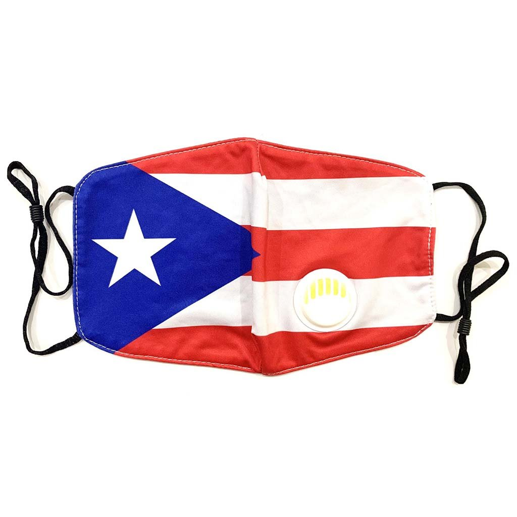 Washable Cloth Mask (Puerto Rico Flag)