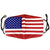 Washable Cloth Mask (USA Flag / Stars & Stripes)