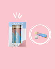 Load image into Gallery viewer, Beammco Balm: Vegan Lip Shield SPF 15 (3-Pack)