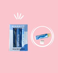 Beammco Balm: Winter Mint Lip Shield SPF 30 (3-Pack)
