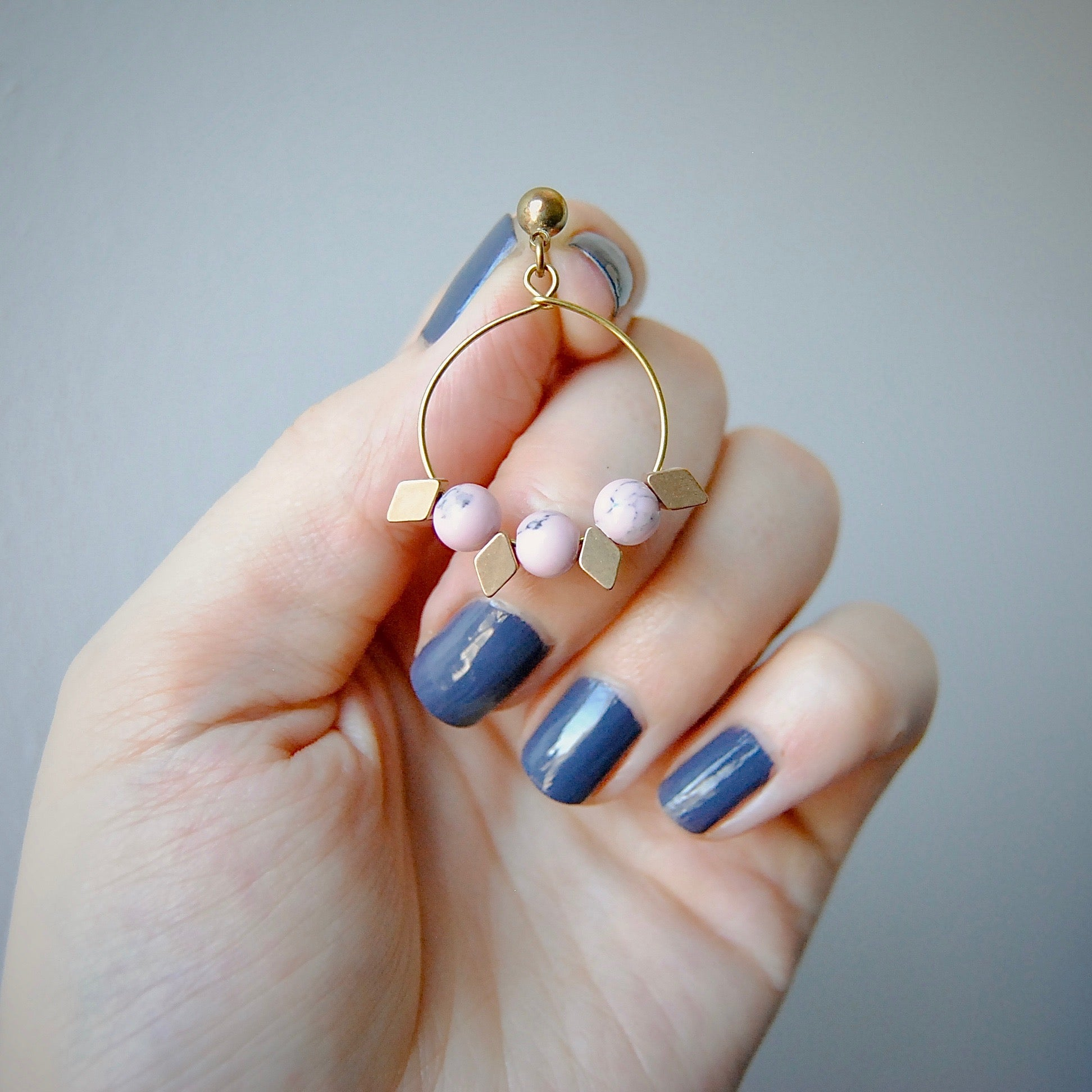 GEOMETRIC DROPS EARRINGS