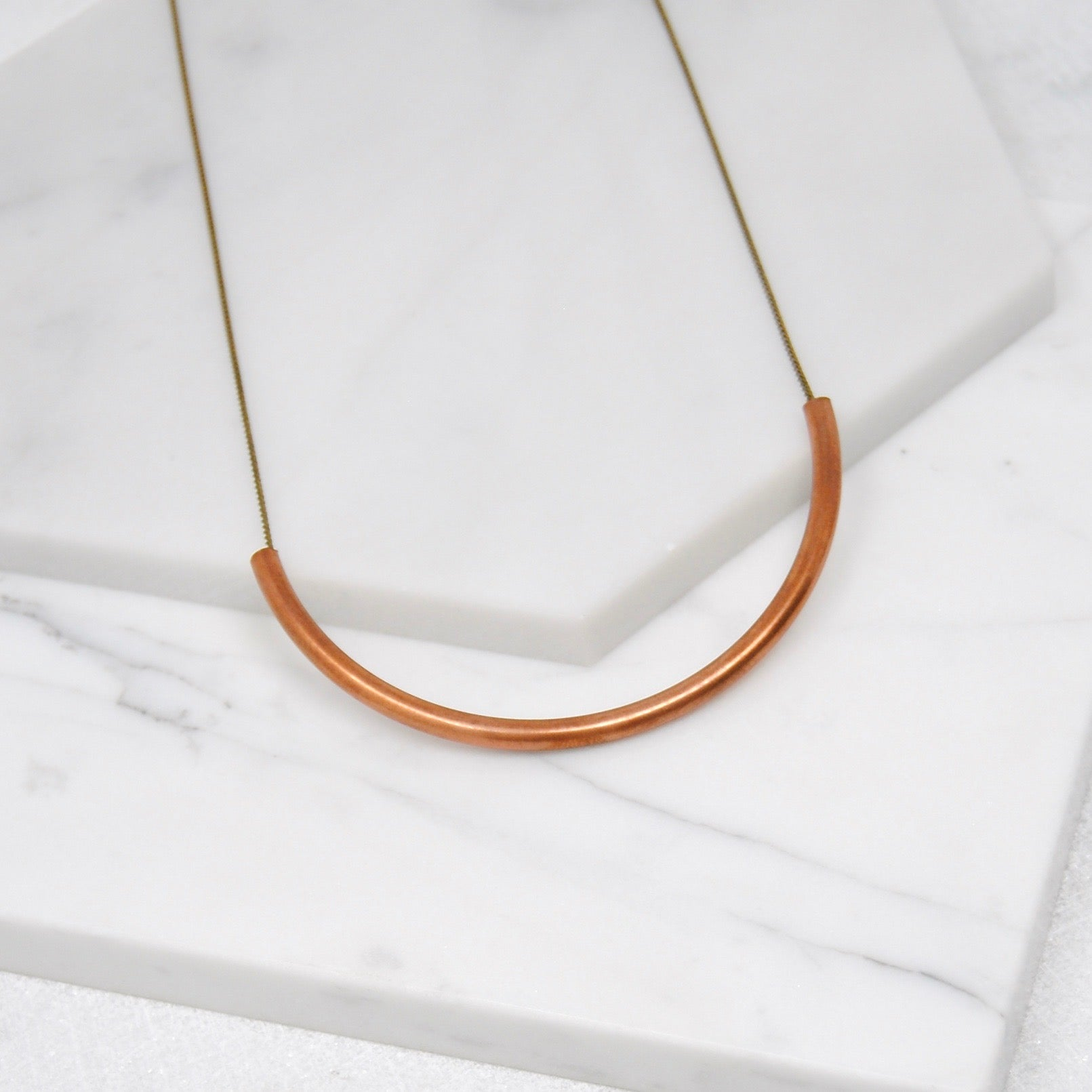 COPPER ARC NECKLACE