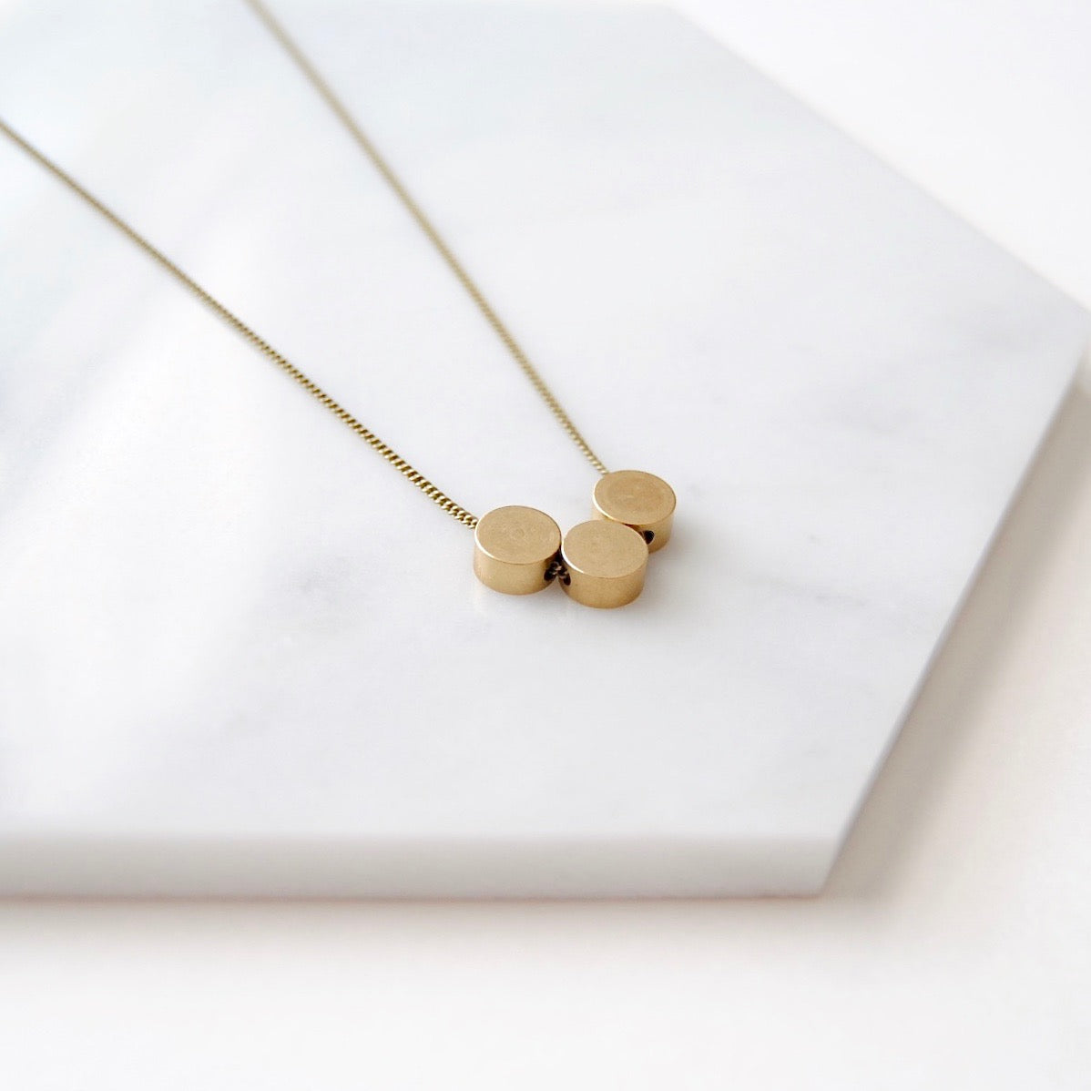 THREE CIRCLES NECKLACE